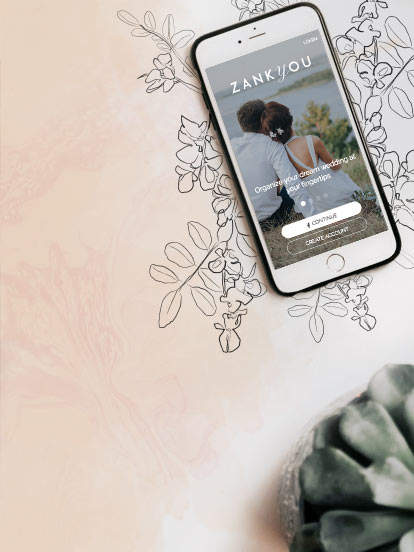 iPhone and Android app for your wedding